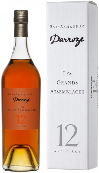 "Арманьяк Darroze, ""Les Grands Assemblages"" 12 ans d'age, Bas-Armagnac, gift box, 0.7 л"