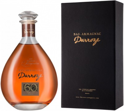 "Арманьяк Darroze, ""Les Grands Assemblages"" 60 ans d'age, Bas-Armagnac, in decanter & gift box, 0.7 л"