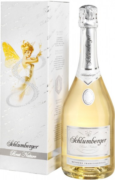 Игристое вино Schlumberger, Brut Nature, 2013, gift box