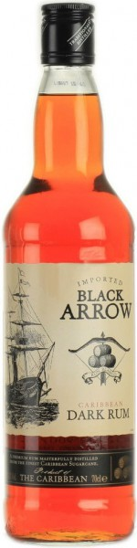 "Ром ""Black Arrow"" Dark, 0.7 л"
