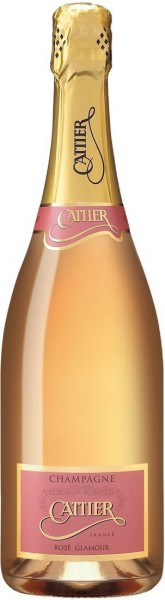 "Шампанское Cattier, ""Glamour"" Rose, Champagne AOC"