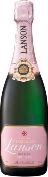 "Шампанское Lanson, ""Rose Label"" Brut Rose"