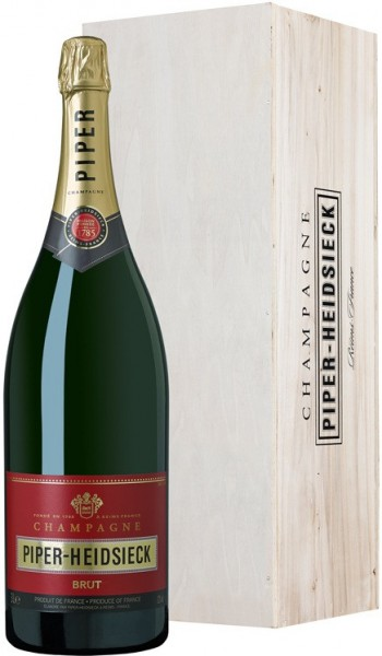 Шампанское Piper-Heidsieck, Brut, wooden box, 3 л