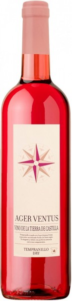 "Вино ""Ager Ventus"" Tempranillo Rose Dry VdT"
