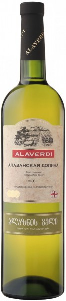 "Вино Alaverdi, ""Alazany Valley"" White"