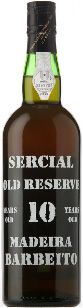 "Вино Barbeito, ""Sercial Old Reserve"" 10 Years Old"
