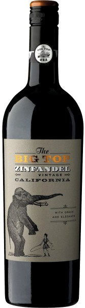 "Вино Boutinot, ""The Big Top"" Zinfandel Red, 2014"