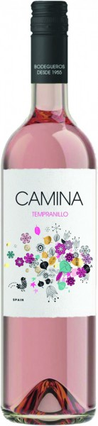 "Вино ""Camina"" Tempranillo Rose, La Mancha DO"