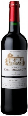 Вино Chateau Haut-Domingue, Bordeaux Superieur AOC, 2012