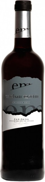 Вино Esteban Martin, Crianza, Carinena DO, 2011