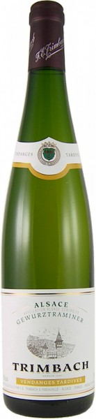 Вино Gewurztraminer Vendanges Tardives AOC, 2011