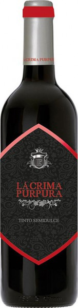 Вино Lacrima Purpura, Tinto Semidulce, Utiel-Requena DO