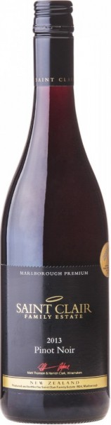 Вино Saint Clair, Marlborough Pinot Noir, 2013
