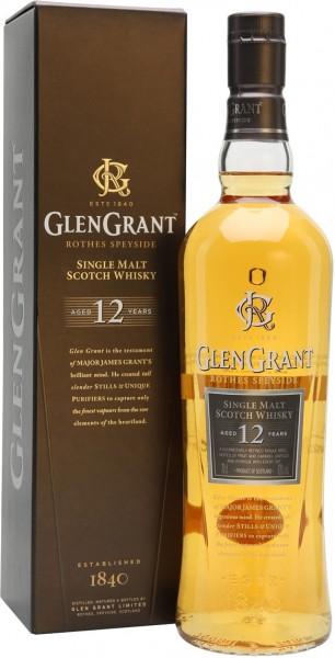 "Виски ""Glen Grant"" 12 Years Old, with gift box, 0.7 л"