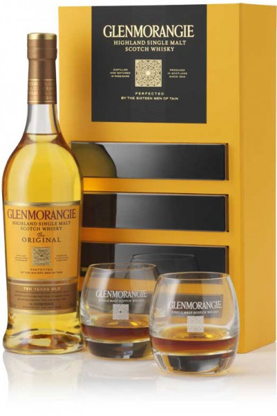 Виски Glenmorangie The Original with 2 glasses in gift box, 0.7 л