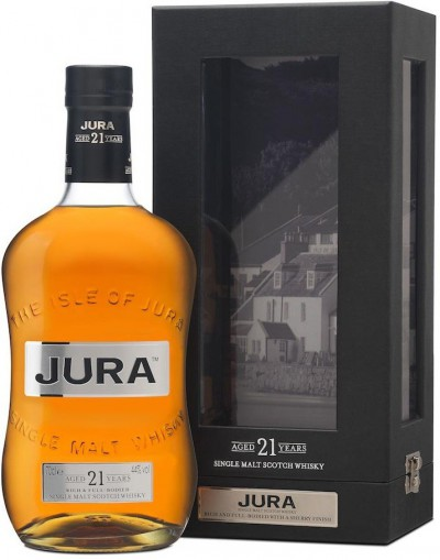 Виски Isle Of Jura, 21 years old, gift box, 0.7 л