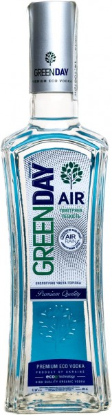 "Водка ""Green Day"" Air, 0.5 л"