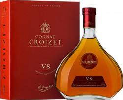 "Коньяк ""Croizet"" VS, Cognac AOC, in decanter & gift box, 0.7 л"