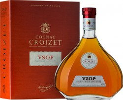 "Коньяк ""Croizet"" VSOP, Cognac AOC, in decanter & gift box, 700 мл"