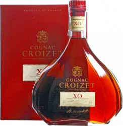 Коньяк Croizet XO, Cognac AOC, in decanter & gift box, 0.7 л