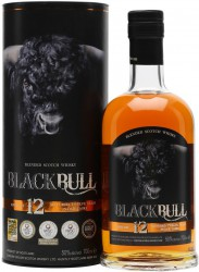 "Виски ""Black Bull"" 12 Years Old, Blended Scotch Whisky, gift box, 0.7 л"