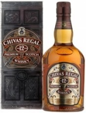 Виски Chivas Regal 12 years old, with box, 0.5 л
