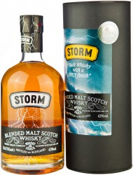 "Виски Lombard, ""Storm"" Blended Malt, in tube, 700 мл"