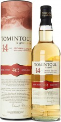 "Виски ""Tomintoul"" 14 Years Old, gift tube, 700 мл"