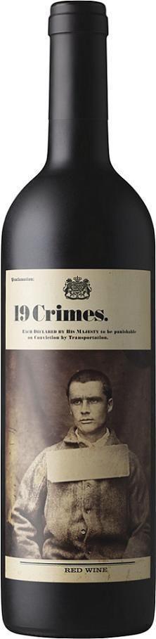 """Вино """"19 Crimes"""", 2018"""