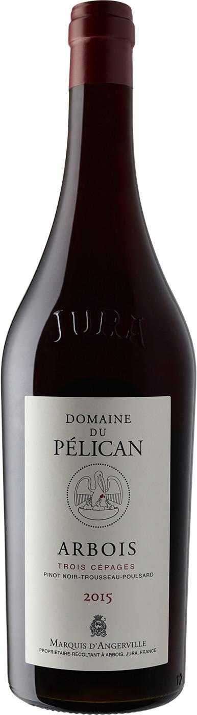 """Вино Domaine du Pelican, Arbois """"Trois Cepages"""", 2015"""
