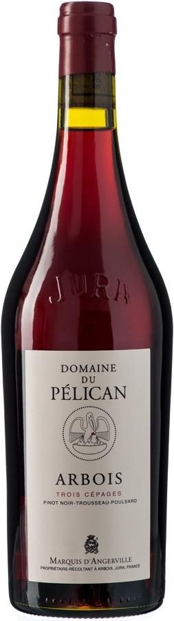 """Вино Domaine du Pelican, Arbois """"Trois Cepages"""", 2017, 1.5 л"""