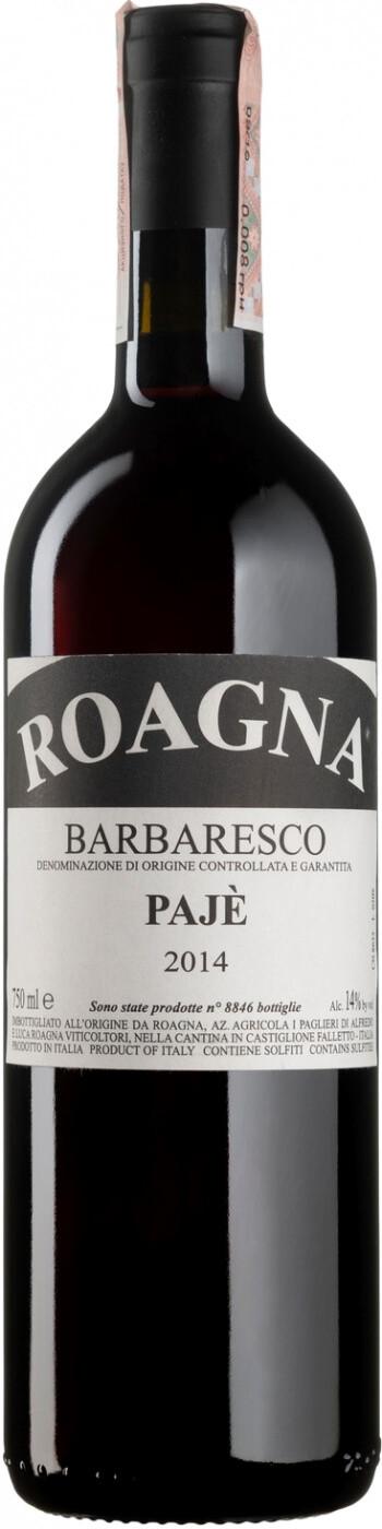 "Вино Roagna, Barbaresco ""Paje"" DOCG, 2014"